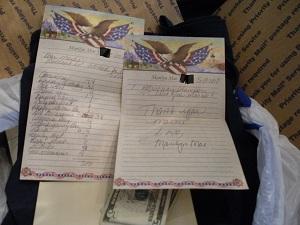 Marilyn Mae note