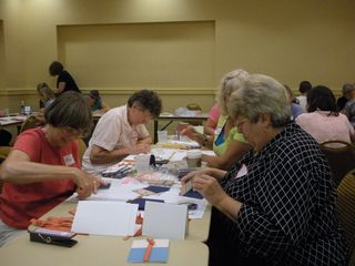 Stamping for the troops Christmas in August  2101 event From Our Hearts